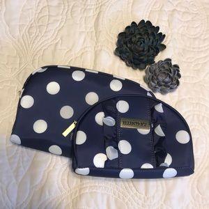 ❤️NWOT Ellen Tracy Makeup bag set